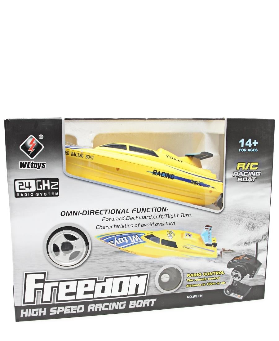 High Speed Racing Boat - Yellow