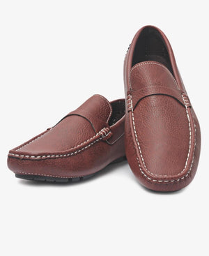 Slip On Casuals - Brown