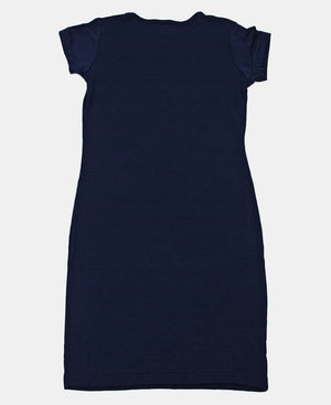 Girls Dress - Navy