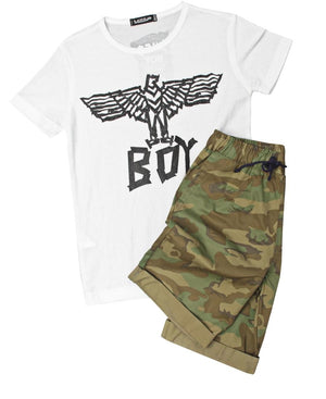 Boys Printed T-Shirt - White