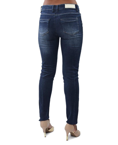 Denim Jeggings - Navy