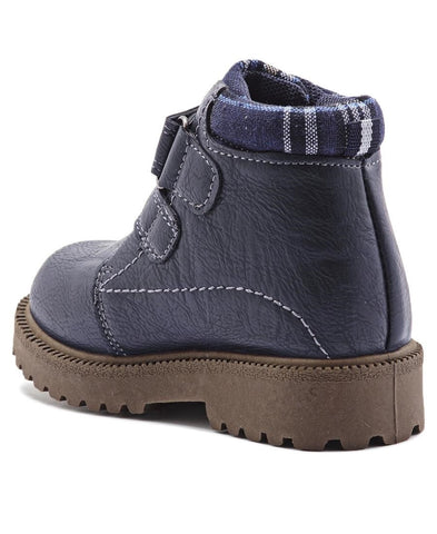 Infants Ankle Boots  - Navy
