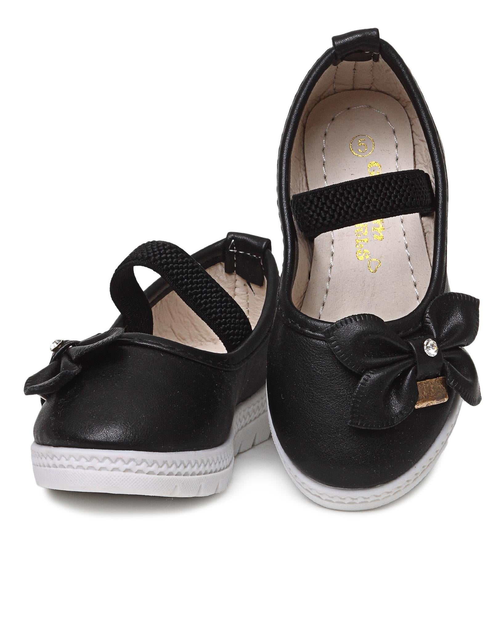 Infants Pumps - Black