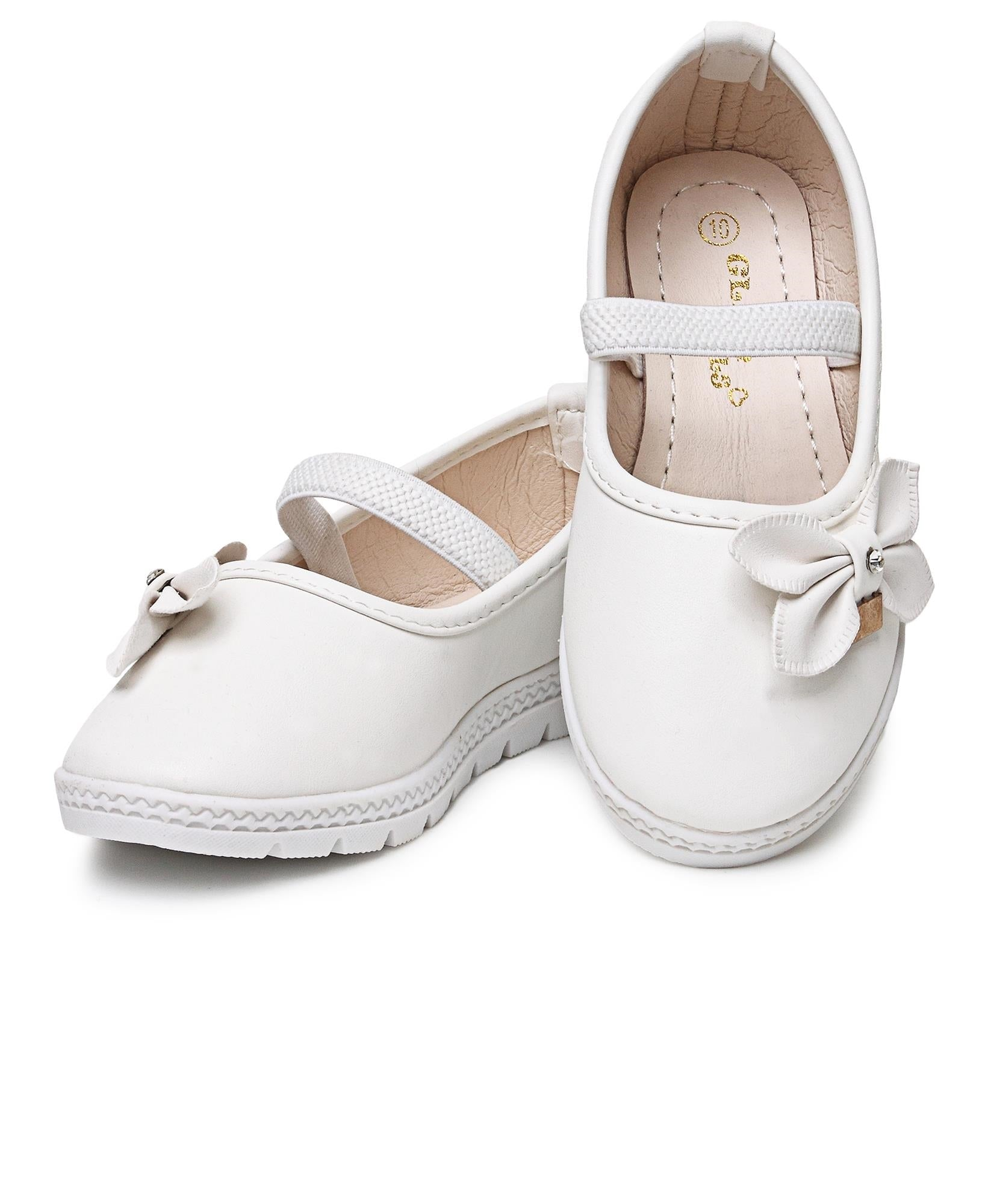 Infants Pumps - White