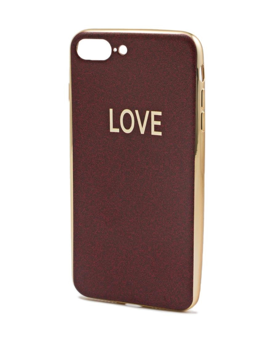 Iphone 7 Plus Cover  - Burgundy