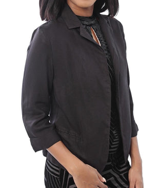 Casual Coat - Black