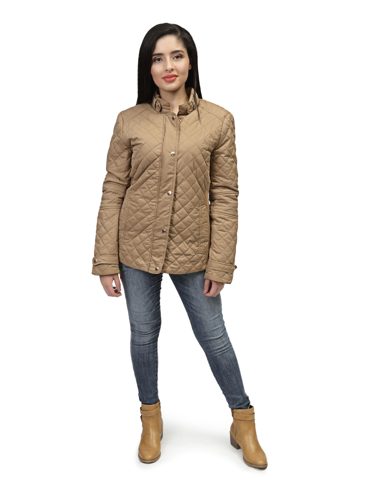 Quilted Jacket - Khaki