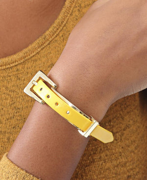 Buckle Bracelet - Yellow