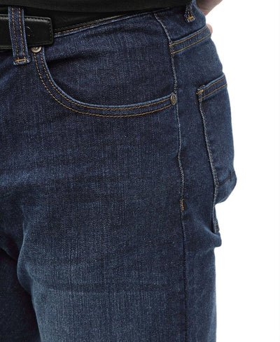 Straight Fit Jeans - Navy