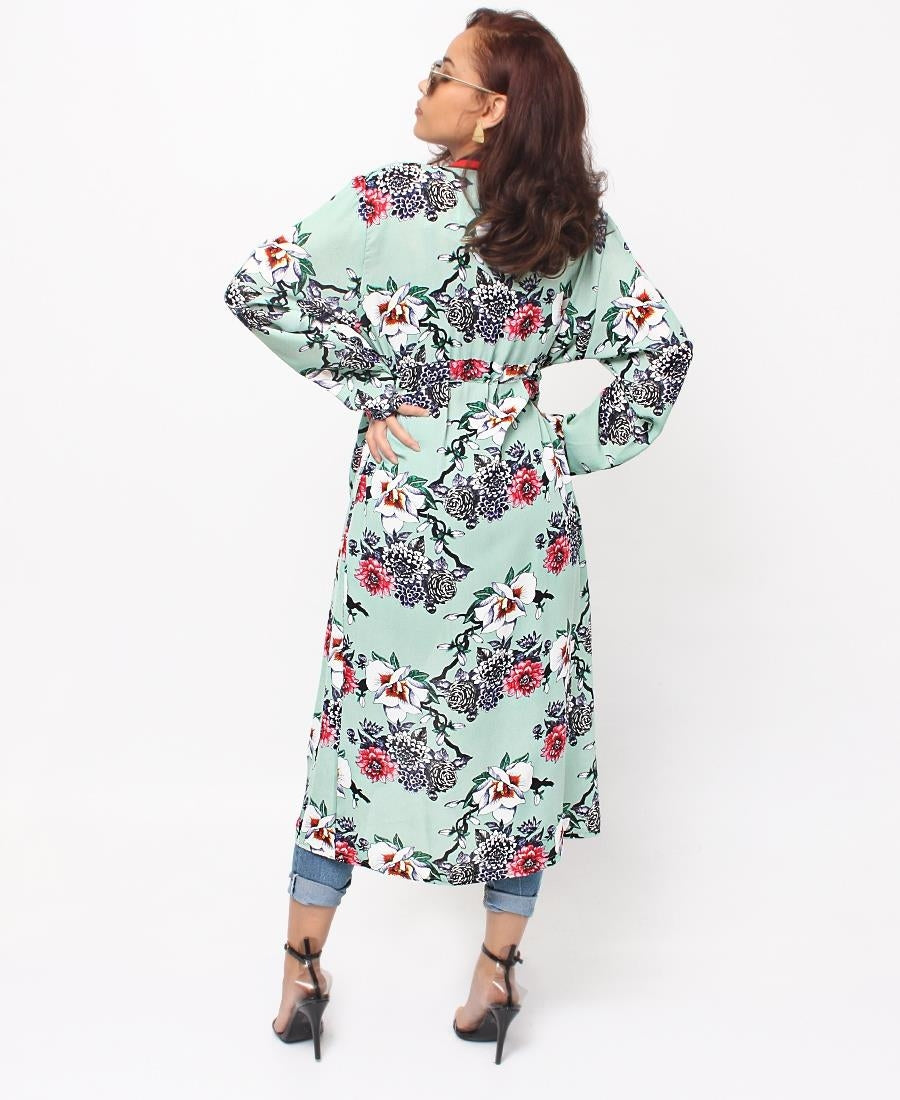 Floral Tunic - Green