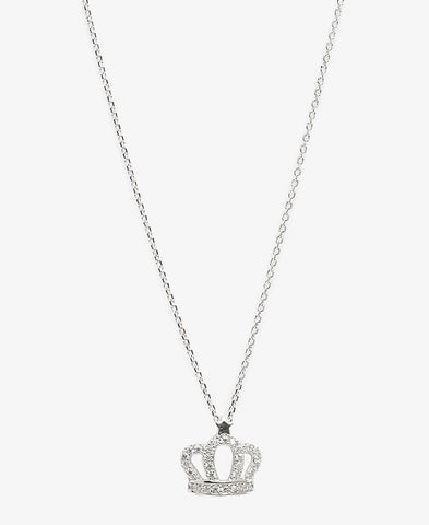 Sterling Silver Megan Necklace - Silver