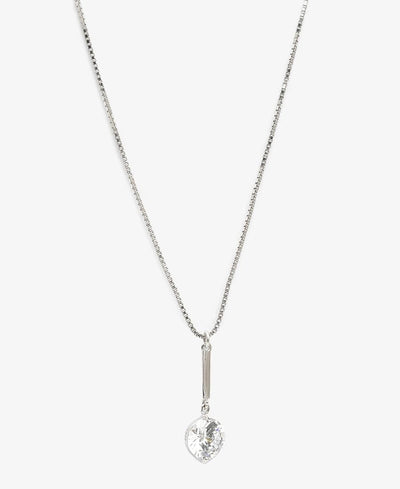 Sterling Silver Amani Necklace - Silver