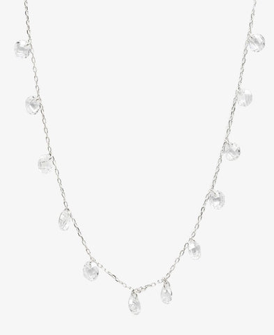 Sterling Silver Kiki Necklace - Silver