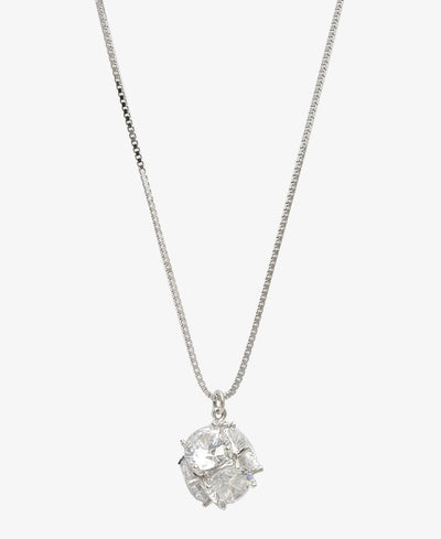 Sterling Silver Miley Necklace - Silver