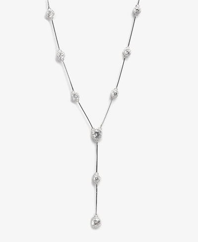 Sterling Silver Hollywood Necklace - Silver