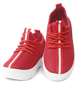 Kids Sneakers - Red