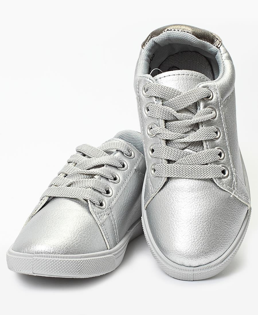 Girls Sneakers - Pewter