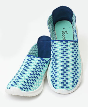 Ladies' Casual Sneakers - Blue