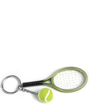 Tennis Key Ring - Green