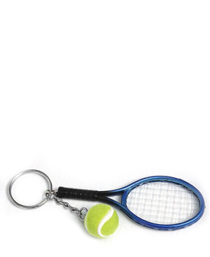 Tennis Key Ring - Blue