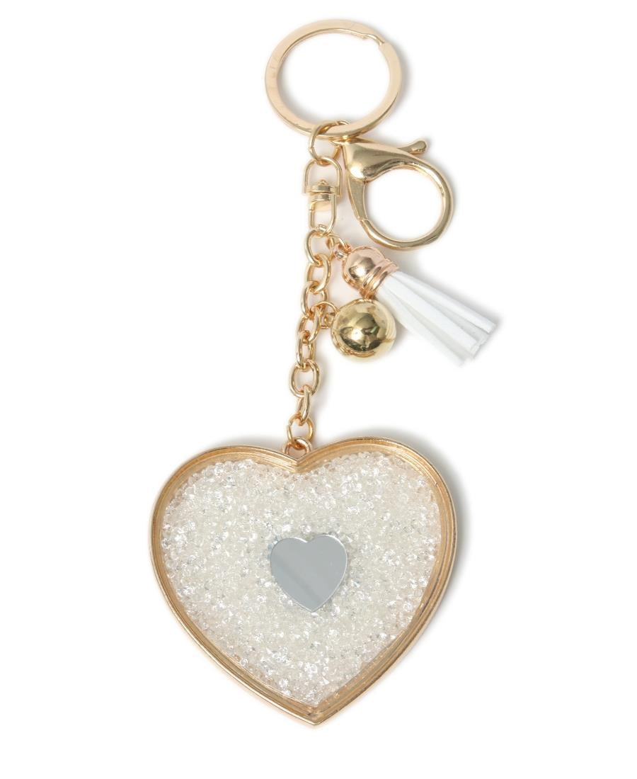 Key Ring - Gold-Silver