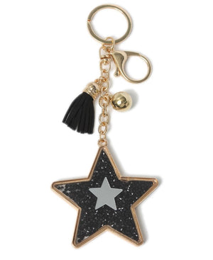 Key Ring - Black-Gold
