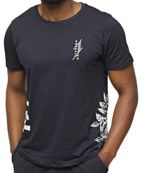 Printed T-Shirt - Navy