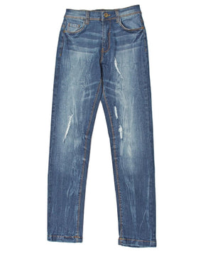 Boys Distressed Jeans - Blue