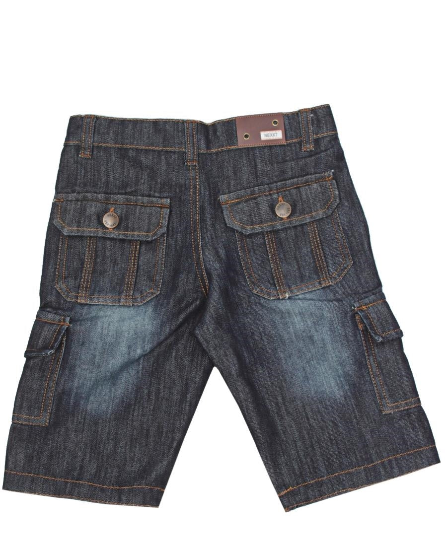 Boys Denim Shorts - Blue