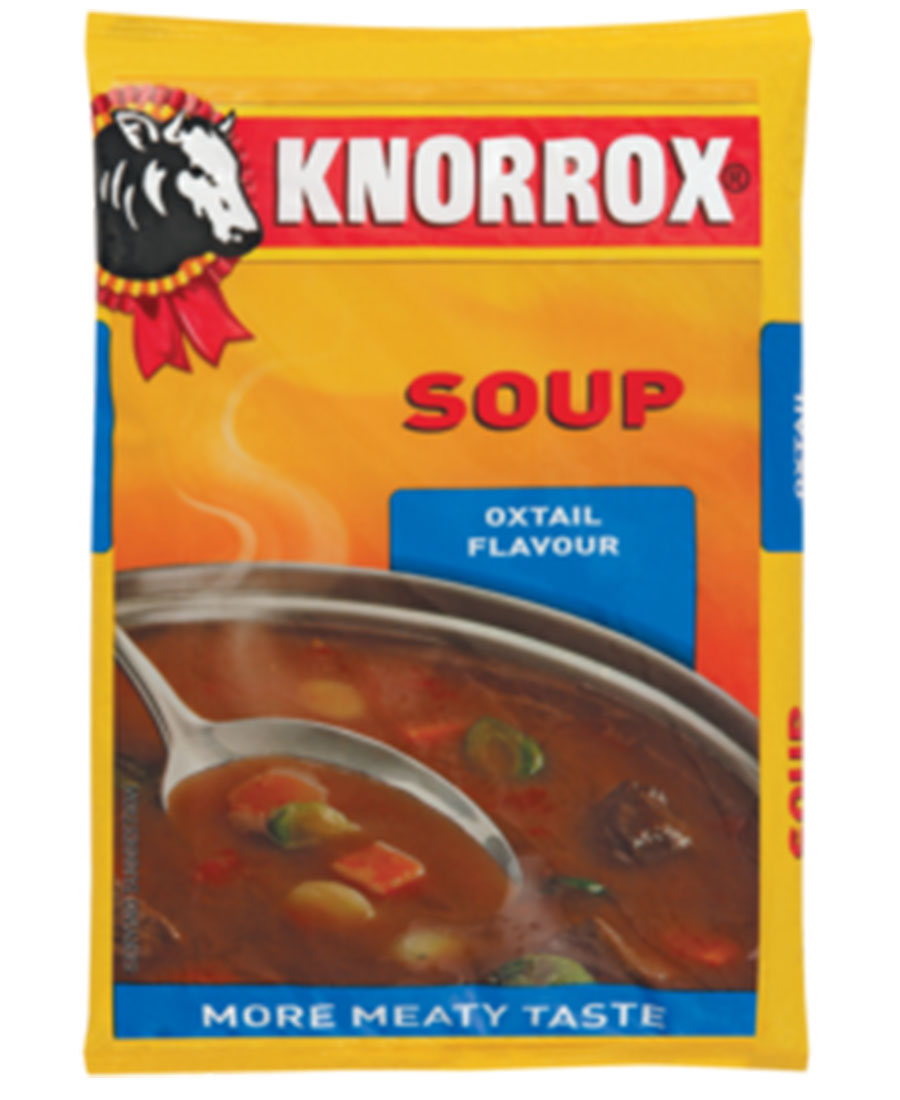 Knorrox Soup Oxtail 400g - Brown