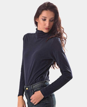 Ladies' Poloneck - Navy