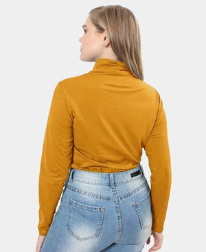 Ladies' Poloneck - Mustard