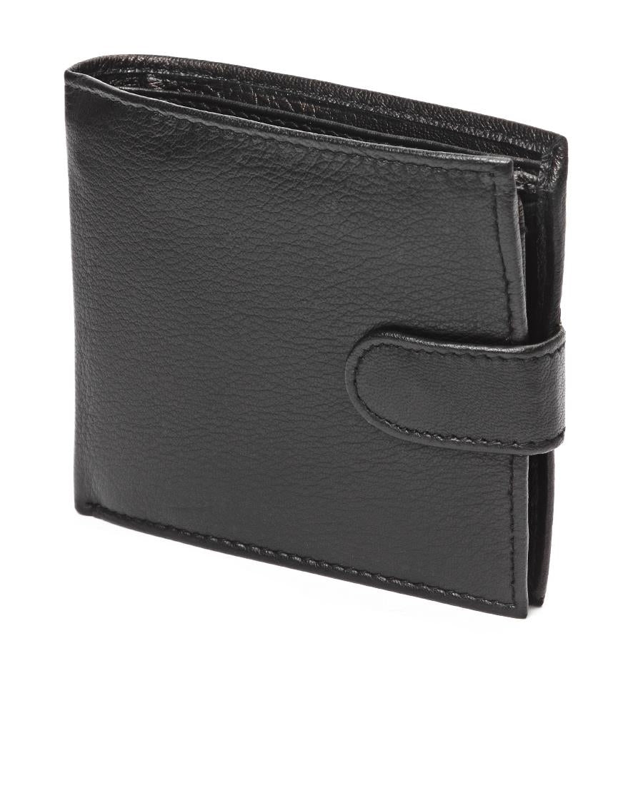 Genuine Leather Wallet - Black