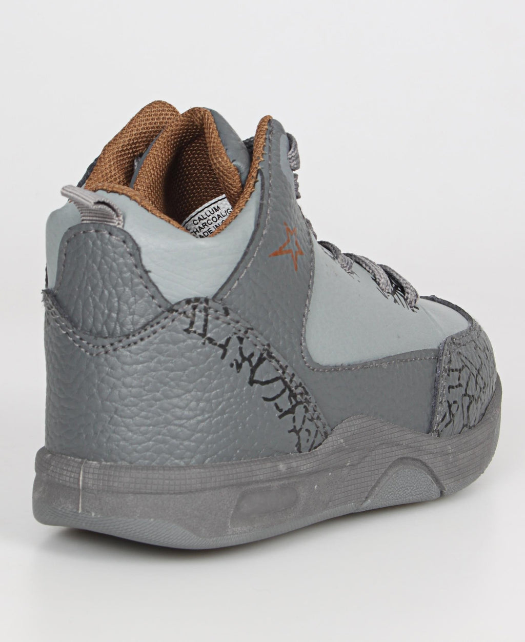 Kids Callum Sneakers - Charcoal