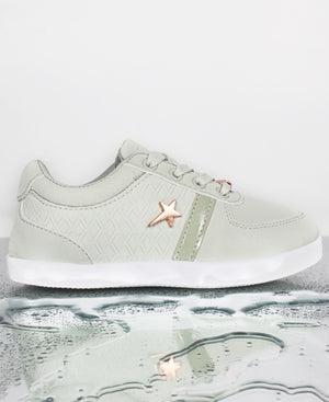 Kids Debbie Sneakers - Light Green
