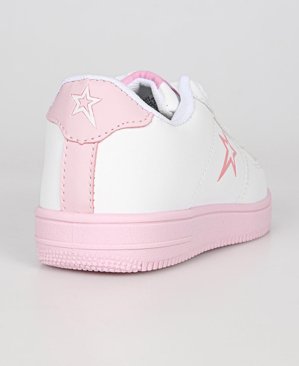 Kids Jazz Sneakers - White-Mink