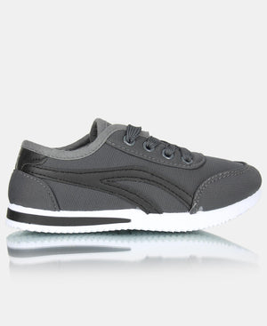 Kids Kendrick Sneakers - Charcoal