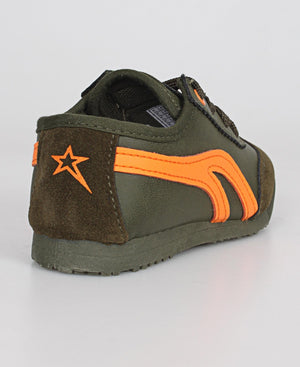 Kids Lamar Sneakers - Olive