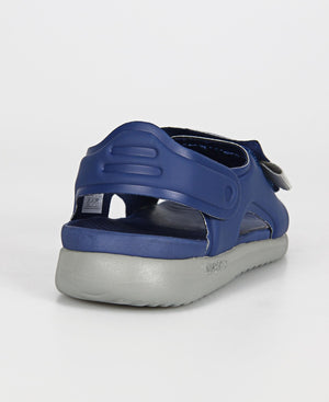Kids Quin Sandals - Navy-Grey