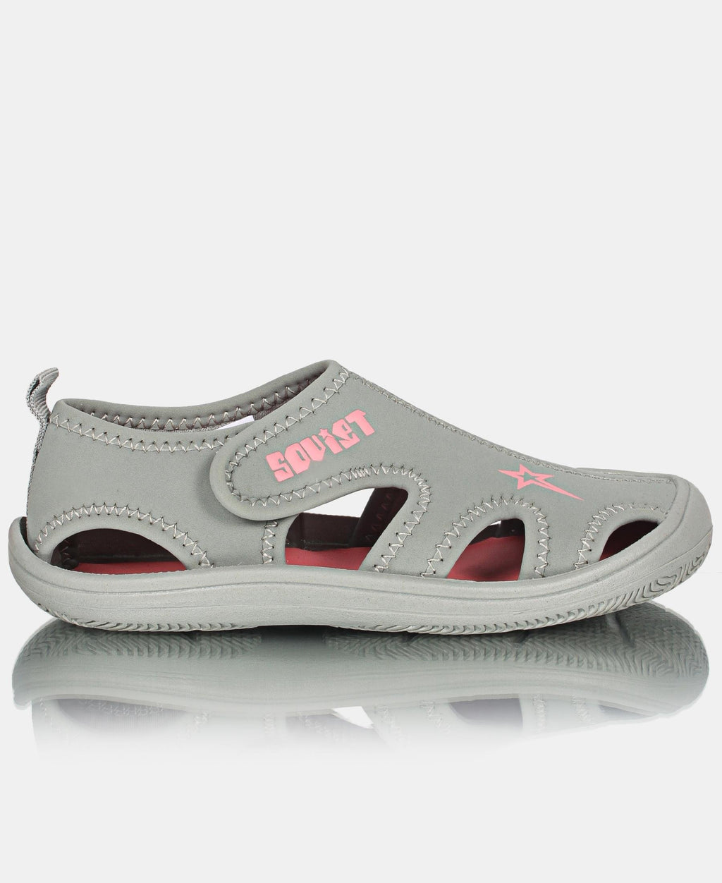 Kids Ramba Sandals - Light Grey