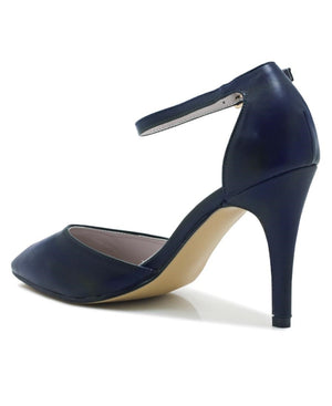 Ankle Strap Court - Navy
