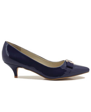 Kitten Heel - Navy