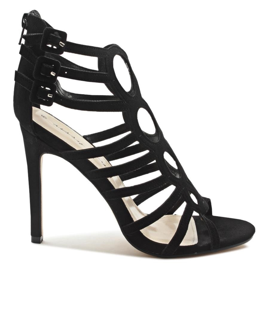 Strappy Stilleto - Black