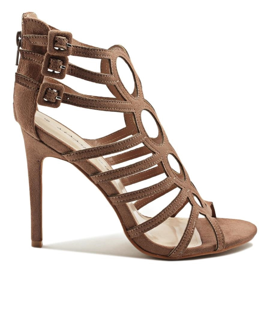 Strappy Stilleto - Tan