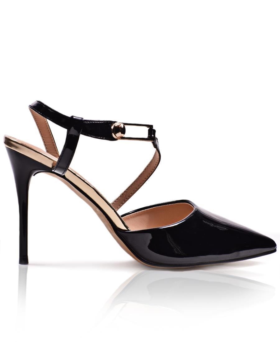 Pointy Heel  - Black