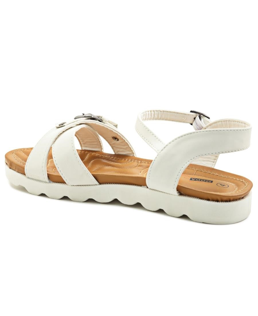 Casual Sandals - White