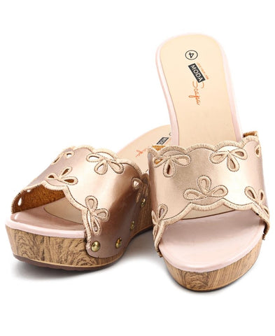 Wedge - Rose Gold