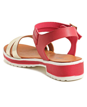 Casual Sandals - Red