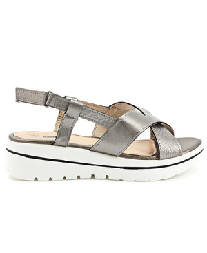 Sandals - Pewter