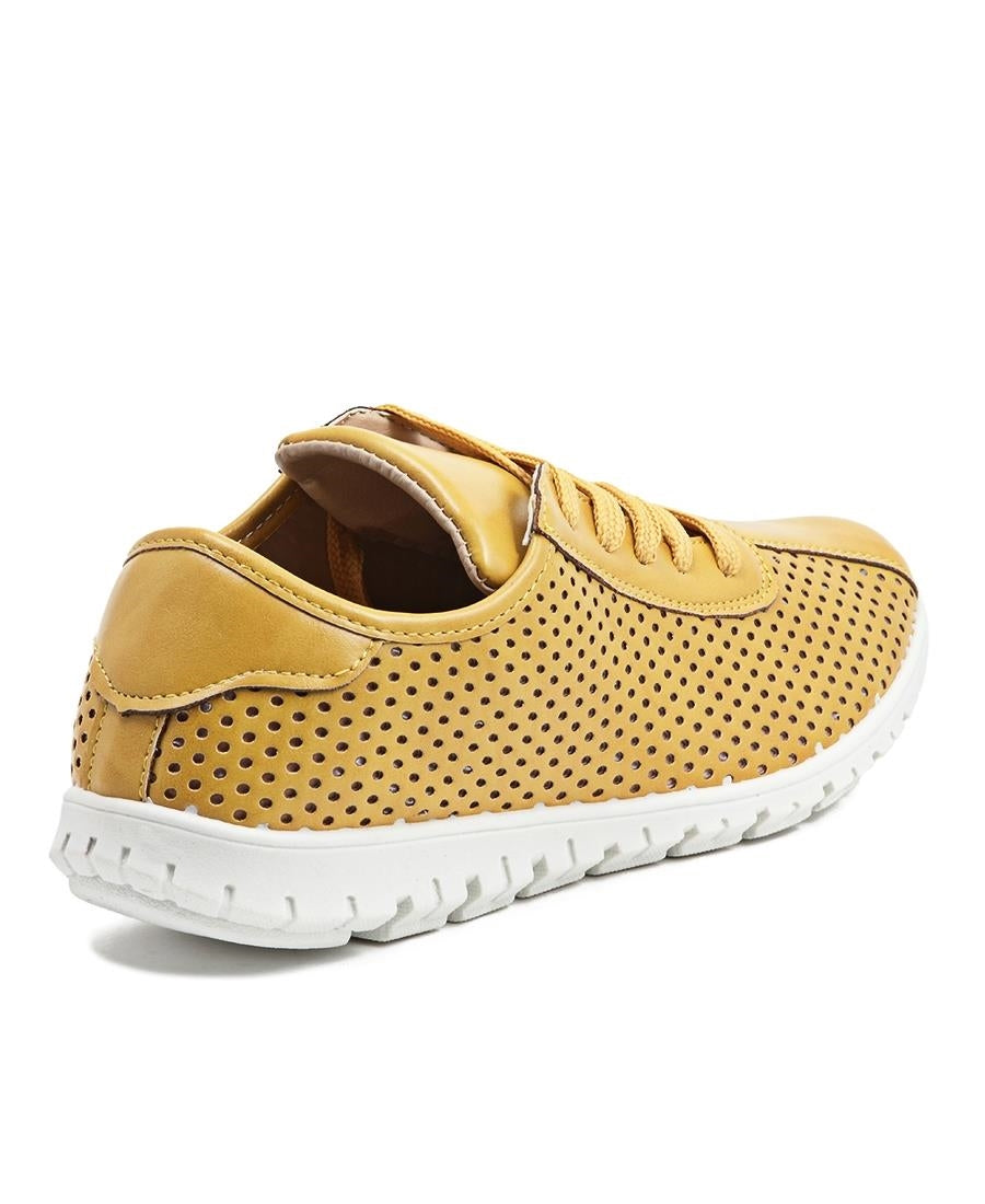 Casual Sneakers - Mustard